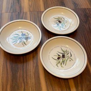 William Sonoma shallow bowls Dishwasher microwave